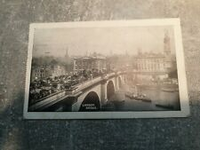 London Bridge, steam paddle boat and barges