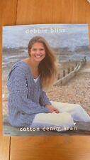 DEBBIE BLISS knitting PATTERN book 12 patterns BNWOT