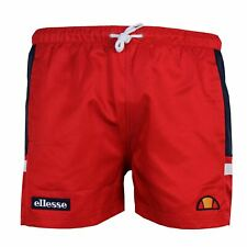 ELLESSE CAGLIARI MENS RED SWIM SHORTS