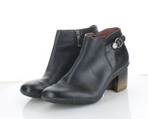 32-44 NEW $180 Women Sz 40 M Dansko Perry Leather Low Waterproof Bootie - Black