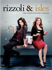 Rizzoli  Isles: The Complete First Season (DVD, 2011, 3-Disc Set) New
