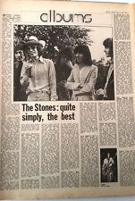 ROLLING STONES 'Exile' album review 1972 UK ARTICLE / clipping
