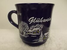 Van Well Gluhwein Holiday Winter Scene Coffee Tea Cup Mug Germany