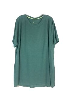All In Motion Mens Short Sleeve Athletic T Shirt XL Green