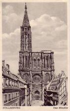 Strasburg - Strasbourg - Das Münster - vor 1945