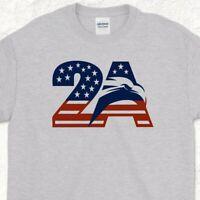 2A Eagle 2nd Amendment shirt gym ruger sig sauer guns ar15 tactical rifle