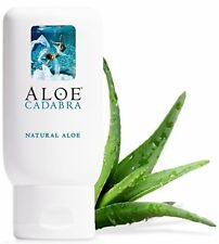 NATURAL ALOE Unscented Personal Water-Based Lubricant Lube Edible Oral Sex Anal!