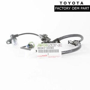 GENUINE TOYOTA CAMRY LEXUS ES350 FRONT PASSENGE ABS SENSOR WIRE OEM 89542-33090