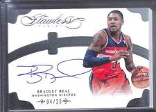 2013-14 Panini Flawless Autograph #NB-BB Bradley Beal No 4 of 20