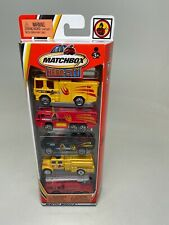 MATCHBOX-HERO-CITY-5 PACK SET-METRO ALARM-(FIRE-VEHICLES)--SEALED-C1888-2003