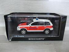 Minichamps 1/43 - VW Touareg emergencias 2002 Nef