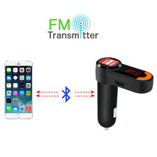 E14 Bluetooth FM Transmitter MP3 2xUSB Ladegerät Smartphone iPhone Freisprech