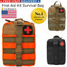 Tactical First Aid Kit Survival Molle Rip-Away EMT Pouch Patch Bag IFAK Medical