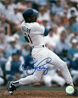 John Shelby Signed 8X10 Photo Autograph Los Angeles Dodgers Blue Auto COA