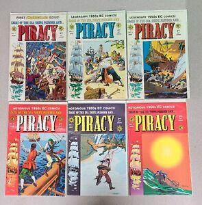 Piracy Issues 1 2 3 4 5 6 Gemstone EC comic reprint 1998 NM