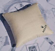 Cuscino 9x9 cm. circa porta orologio per vetrina ORIGINALE ROLEX