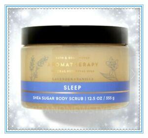 Bath & Body works Aromatherapy SLEEP LAVENDER VANILLA Shea Sugar Scrub 12.5 oz