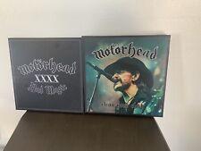 Motorhead 2 Box Set Lot Clean Your Clock Bad Magic Heavy Metal Iron Maiden Tank