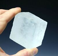 Optical Clear Calcite / Iceland Spar Large Crystal - Natural Raw Mineral 256g