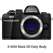 Olympus E-M10 Mark III Only Body (Black) 4K Recording 5-Axis I.S 34 Languages