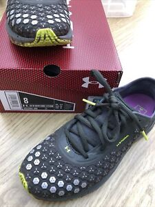 Ladies Under Armour Sonic 3 Storm Running Trainers Waterproof Sz 5 .5 And A Hald