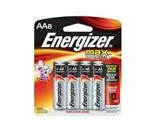 Energizer Max Alkaline Aa Batteries 8 ea