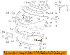 Chevrolet GM OEM Front Bumper Grille Grill-Lower Cover Bracket Left 25975480