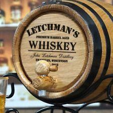 Personalized Barrel Connoisseur® Whiskey Making Kit Whiskey Oak Barrel, Pub, Bar