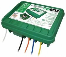 Dribox Large Green Weatherproof Box Waterproof Enclosure 330 for Electric Items