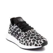 adidas Black Animal Print Athletic