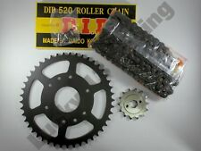 DID Chain and JT sprocket kit for KTM Duke 125 ABS 14-19 13T front 45T rear
