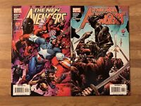 New Avengers 12, 13 (Marvel 2005) 2nd Appearance Ronin~Hawkeye Thanos~EndGame~NM