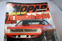 MOPAR Action Magazine June 2006 '70 HemiCuda Ragtop Road test