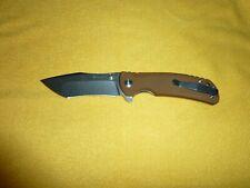 Kizer Tangram Rumble Folding Knife Japanese Steel Kim Ning Unique Blade Grind