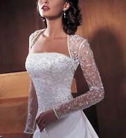 White/Ivory Wedding Dress Evening Dress Bridal Gown 6-8-10-12-14-16-18-20-22+