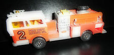 Majorette Fire Dept Engine No. 2 Diecast Fire Truck (7 INCHES)