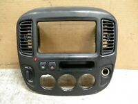 2001 Ford Escape Factory Radio bezel dash trim panel A/C vents climate control