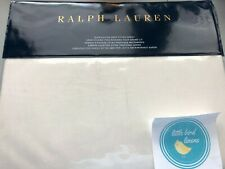 Ralph Lauren Half Moon Bay Nadiya Cream Queen Size Fitted Sheet