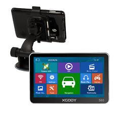 5'' 8GB SAT NAVI Unit GPS Navigation System W/ Free Lifetime 2D 3D Map XGODY 560