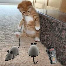 Pet Wireless Remote Control Rat Mouse Toy Moving Mouse For Cat Playing Chew+Good
