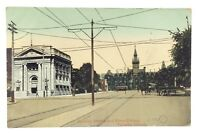 Spadina Ave Knox College Toronto Ontario Canada Posted Written On Postcard E565