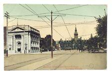 Spadina Ave Knox College Toronto Ontario Canada Posted Written On Postcard E565