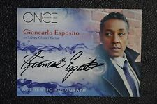 Once Upon a Time A6 Giancarlo Esposito Genie Autograph Auto Trading Card Disney