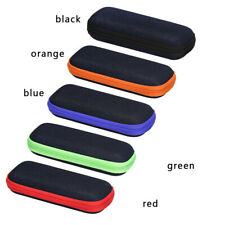1/2PCS Eye Glasses Case Box Sunglasses Protector Hard Pouch Zipper