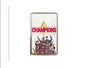 Liverpool Champions Fridge Magnet Nostalgic FOOTBALL Memorabilia