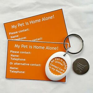 Pet Home Alone Trolley Coin Token Keyring & Cards Curiosity Crafts