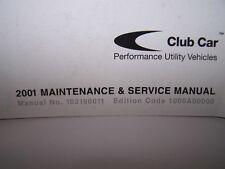 Club Car Pioneer Maintenance and Service Manual