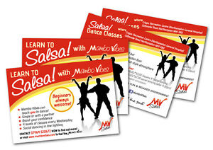 A6 & A5 Flyers/Leaflets Printed Full Colour Onto 160gsm Card
