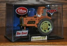 Disney Store Cars Collector Case Die Cast  Brown Tractor Rare NEW