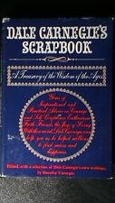 DALE CARNEGIE'S SCRAPBOOK  TREASURY/AGES HC/DJ  SPECIAL AWARD PRESENTED 1975